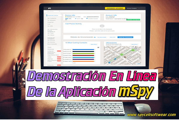 Demostracion En Linea De La Aplicacion mSpy