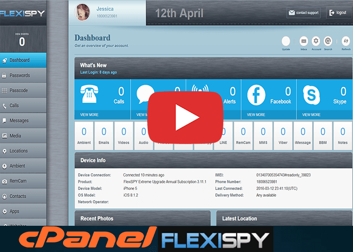 Software Demo FlexiSPY Online