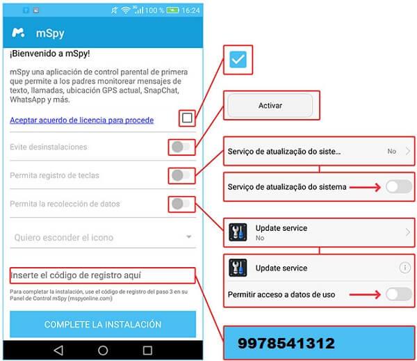 Como Instalar mSpy En Dispositivos Android